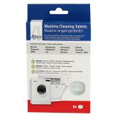 Qualtex QUACLN027 6 Foil Packaged Tables For Cleaning Washing Machines And Dishwashers