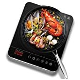 Quest 35839 Single Table Top Induction Hob