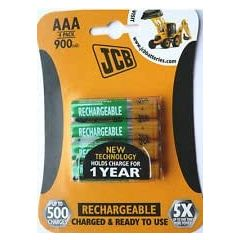 Connect Distribution RX031000B4 Aaa Nimh Rechargeable Batteries