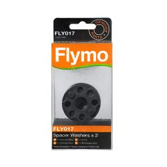 Flymo FLY017 Genuine  Spacer Washers X 2 To Suit Various Hover Lawnmowers