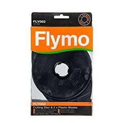 Flymo FLY052 Genuine Cutting Disc With 2 Plastic Blades
