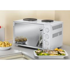 Russell Hobbs 13824 Mini Kitchen With Convection Oven And Hotplates 3Kw