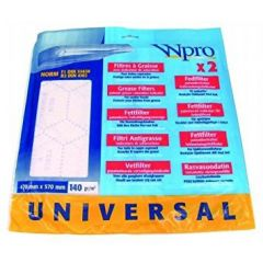 Whirlpool Uk Ltd 481948048221 Universal Cut To Size Grease Filter